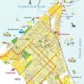 Карты города Ейска