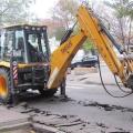 В Ейске начался ремонт канализационной сети на ул. Коммунаров