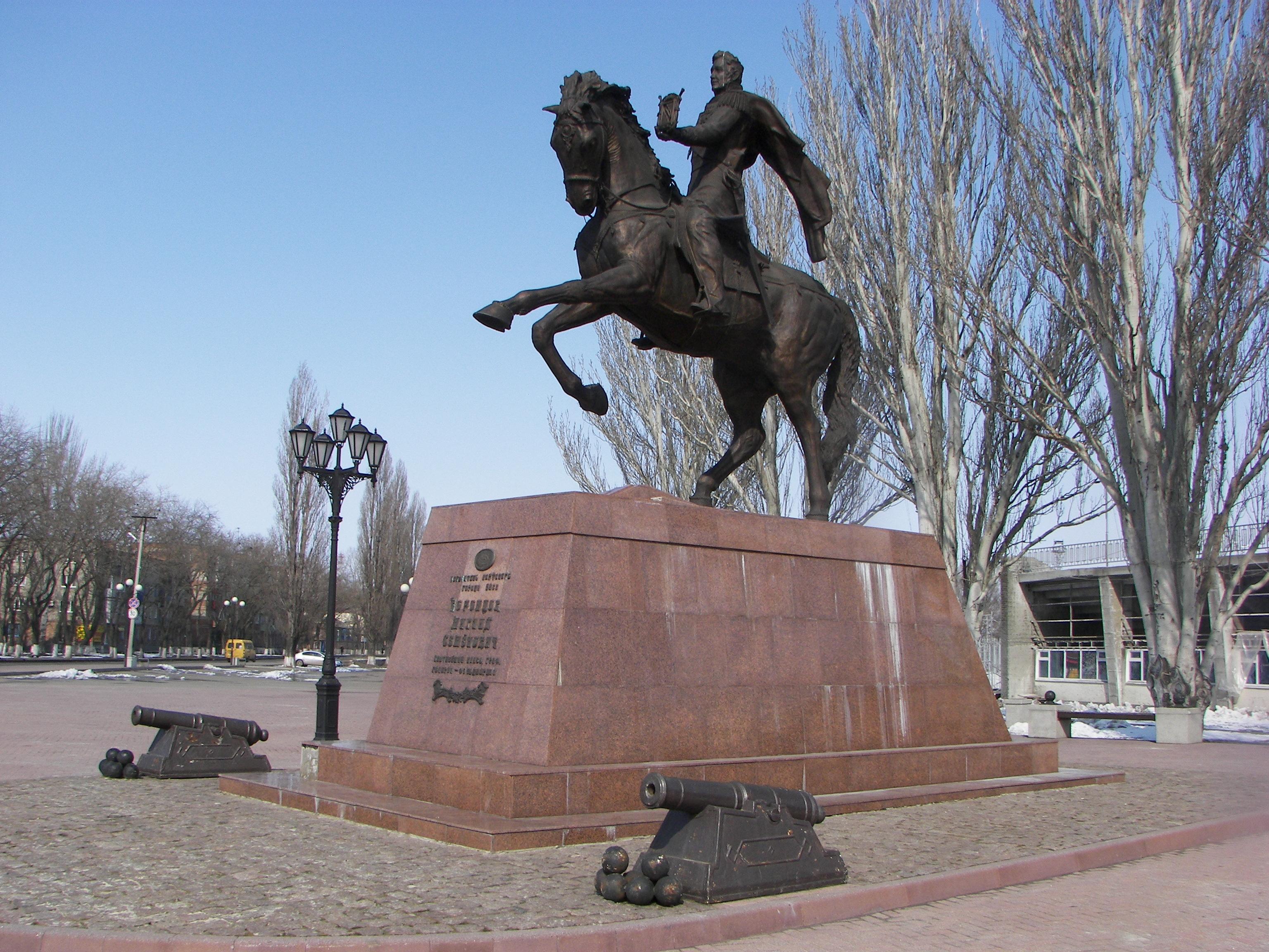 Фотографии памятников в городе Ейск
