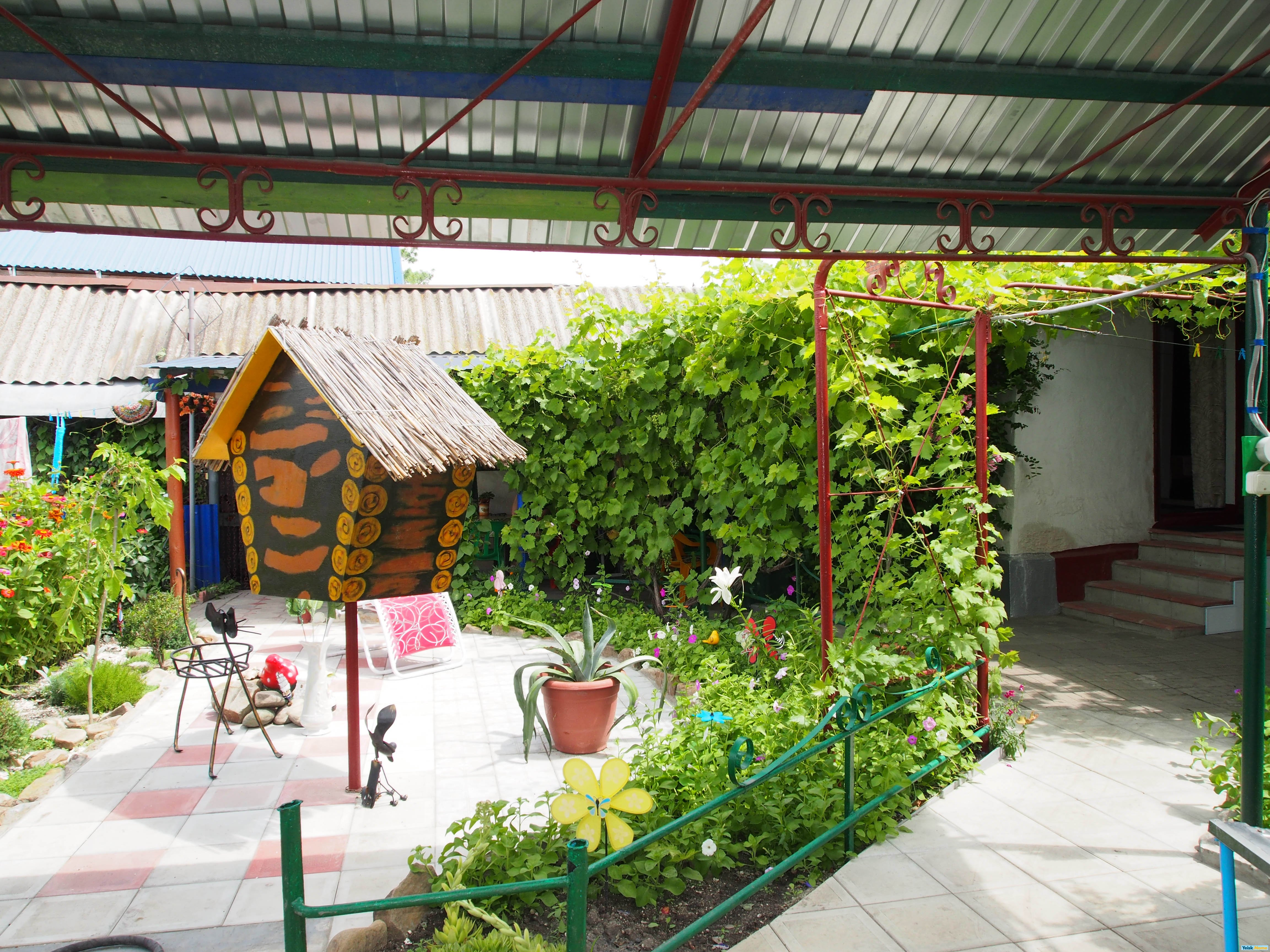 Два дома в одном дворе Вариант №160